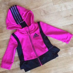Cute Adidas jacket size 12M